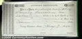 Miscellaneous:Republic of Texas Notes, $10, Auditor's Certificate, Austin, TX, 1/7/1842, AU. The righ...