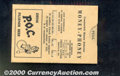 Miscellaneous:Other, Counterfeit Money Detector, ca. 1950s, VF. A handout from P.O.C...