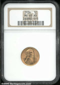 Lincoln Cents: , 1936 1C, RD
