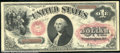 1878 $1 Legal Tender Note, Fr-27, VF. The center fold shows some soiling on the back, but the note has even wear and goo...