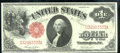 1917 $1 Legal Tender Note, Fr-36, XF. A premium quality note that does not appear to have ever been in circulation. The...