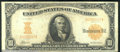 Large Size Gold Certificates:Large Size, 1907 $10 Gold Certificate, Fr-1169, VF. This is the variety 116...