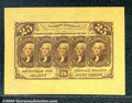 Fractional Currency: , 1862-1863 25c First Issue, Jefferson, Fr-1282-SP, Wide Margin S...
