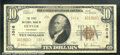National Bank Notes:Colorado, First National Bank of Denver, CO, Charter #1016. 1929 $10 Type...