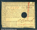 Colonial Notes:Massachusetts, May 5, 1780, $1, Massachusetts, MA-278, VF. The margins on thre...