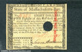 Colonial Notes:Massachusetts, May 5, 1780, $8, Massachusetts, MA-284, Ch CU. A bright and eye...