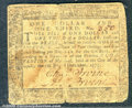 Colonial Notes:Maryland, December 7, 1775, $1 1/3, Maryland, MD-85, Fine. The edges are...