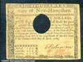 Colonial Notes:New Hampshire, April 29, 1780, $8, New Hampshire, NH-184, VF. A very solid and...