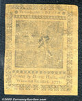 Colonial Notes:Pennsylvania, April 3, 1772, 1s, Pennsylvania, PA-154, Fine. Strong signature...