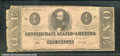 Confederate Notes:1862 Issues, 1862 $2 Judah P. Benjamin, T-54, G-VG. The left margin is rough...