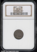 Early Half Dimes: , 1801 H10C