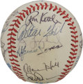 Autographs:Baseballs, 1985 Chicago White Sox Team Signed Baseball. Twenty-four signaturesfrom the 1985 Chicago White Sox appear on the surface o...