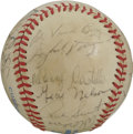 Autographs:Baseballs, 1983 Seattle Mariners Team Signed Baseball. The 1983 SeattleMariners are represented here by the 24 signatures that we off...