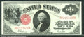 1917 $1 Legal Tender Note, Fr-39, Ch CU+. The paper has a great original feel to it and combining that with strong embos...