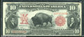 Large Size:Legal Tender Notes, 1901 $10 Legal Tender Note, Fr-117, VF. A wonderful looking Bis...