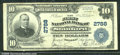 National Bank Notes:Kentucky, First National Bank of Stanford, KY, Charter #2788. 1902 $10 Th...