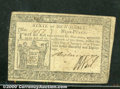 Colonial Notes:New Jersey, January 9, 1781, 9d, New Jersey, NJ-193, XF. There are three li...