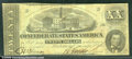 Confederate Notes:1862 Issues, 1862 $20 State Capitol at Nashville, TN; A.H. Stephens, T-51, V...