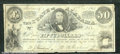 Miscellaneous:Obsolete and Broken Bank Notes, $50, The State of Alabama, Montgomery, AL, 1/1/1864, Cr-13, Fin...