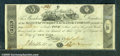 Miscellaneous:Obsolete and Broken Bank Notes, $5 Manufacturers' Exchange Company, Bristol, CT, 9/15/1814, Fin...