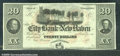 Miscellaneous:Obsolete and Broken Bank Notes, $20 The City Bank of New Haven, CT, XF-AU. A stunning note with...