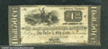 Miscellaneous:Obsolete and Broken Bank Notes, $1.50, The East Bridgewater Bank E. Bridgewater, MA, Fine-VF. T...