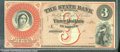 Miscellaneous:Obsolete and Broken Bank Notes, $3 The State Bank of Michigan, Detroit, XF. A product of the Am...