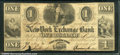 Miscellaneous:Obsolete and Broken Bank Notes, The New York Exchange Bank, 1/15/1840, VG-Fine. There is some i...