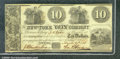Miscellaneous:Obsolete and Broken Bank Notes, $10, The New York Loan Company, New York, NY, 3/2/1838, Ch CU. ...