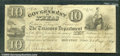Miscellaneous:Obsolete and Broken Bank Notes, $10, The Government of Texas, Houston, TX, 1/28/1839, H17, Fine...