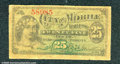 Miscellaneous:scrip, 25 cents, City of Mobile, Alabama, Good. A tear at the top righ...