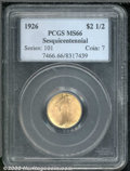 Commemorative Gold: , 1926 $2 1/2 SESQUI