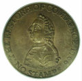 1766 Pitt Token MS 62 Brown PCGS. Breen-251. Speaking before Parliament in January 1766 in defense of American colonists...