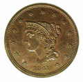 Proof Large Cents: , 1841 1C, RB