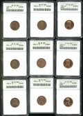 Lincoln Cents: , Multiple Coin Lot...