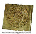 Great Britain, Charles I farthing Richmond type 1G, an untrimmed single on square flan, mintmark double rose, Peck-226...