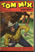 Golden Age (1938-1955):Western, Tom Mix Western #7-12 Bound Volume (Fawcett, 1948) ....