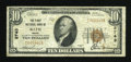 National Bank Notes:Maine, Bath, ME - $10 1929 Ty. 1 The First NB Ch. # 2743. ...