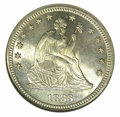 Seated Quarters: , 1883 25C