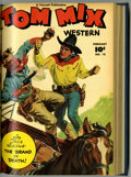Golden Age (1938-1955):Western, Tom Mix Western #13-18 Bound Volume (Fawcett, 1949) ....