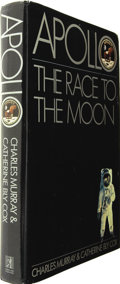 Books:Signed Editions, Charles Murray and Catherine Bly Cox. Apollo the Race to theMoon Signed by Four Apollo Astronauts....