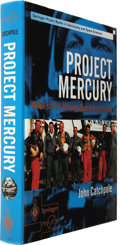 Books:Signed Editions, John Catchpole. Project Mercury (Signed by Carpenter,Cooper, and Schirra)...