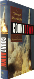 Books:Signed Editions, T[homas]. A. Heppenheimer. Countdown Signed by Carpenter, Gordon, Bean, and Mitchell....