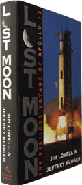 Books:Signed Editions, Jim Lovell & Jeffrey Kluger. Lost Moon...