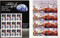 Explorers:Space Exploration, Two Commemorative Sheets of Space-Related Stamps, Signed byAstronaut Charles Duke. ... (Total: 2 Items)