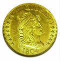 Early Half Eagles: , 1804 $5 OVERDATE