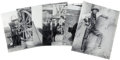 Western Expansion:Cowboy, Lot of Seven Great Re-Print Cowboy Photographs - ... (Total: 7Items)