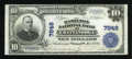 National Bank Notes:Tennessee, Chattanooga, TN - $10 1902 Plain Back Fr. 624 The Hamilton NB Ch. #7848. ...