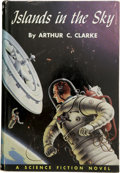 Books:First Editions, Arthur C. Clarke. Islands in the Sky....