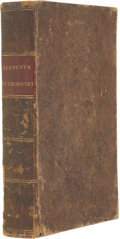Books:First Editions, Andrew Fyfe. Elements of Chemistry,...
